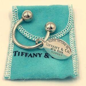 Tiffany Sterling Silver Key Ring
